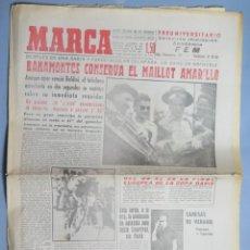 Coleccionismo de Revistas y Periódicos: PERIODICO. MARCA. TOUR FRANCIA. BAHAMONTES. 15 JULIO 1959 . Lote 161665158