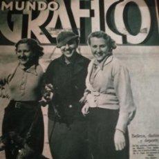 Coleccionismo de Revistas y Periódicos: MUNDO GRAFICO AÑO 1935 CENTRO GALLEGO DE LA HABANA -EL DRAMA RURAL DE CANTALEJO. Lote 161669634
