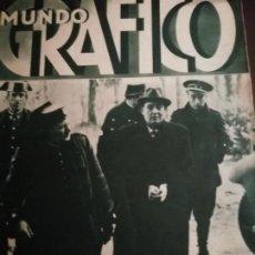 Coleccionismo de Revistas y Periódicos: MUNDO GRAFICO AÑO 1935 SEVILLA PREDIO TABOADA -VALENCIA BOTADURA -CATALUÑA OCTUBRE 1934 AL 1935. Lote 161672794