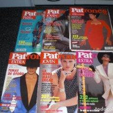 Coleccionismo de Revistas y Periódicos: LOTE 6 REVISTAS PATRONES. Lote 161699342
