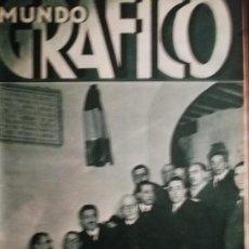 Coleccionismo de Revistas y Periódicos: MUNDO GRAFICO AÑO 1935 PROYECTO CASA MONEDA FERNANDEZ SHAW- ESTATUAS PARQUE CIUDADELA. Lote 161779466