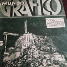 Coleccionismo de Revistas y Periódicos: MUNDO GRAFICO AÑO 1934 JOSE LLIMONA -SEVILLA LAS COFRADIAS. Lote 161841306