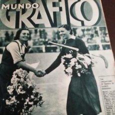 Coleccionismo de Revistas y Periódicos: MUNDO GRAFICO AÑO 1934 LA MURA Y LA MATA TERRASSA. Lote 161862258
