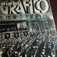 Coleccionismo de Revistas y Periódicos: MUNDO GRAFICO AÑO 1934 SAN JULIAN DE MUSQUES (BILBAO)- FERIA DE ABRIL SEVILLA. Lote 161863426