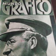 Coleccionismo de Revistas y Periódicos: MUNDO GRAFICO AÑO 1934 CATEDRAL DE LLEIDA -MATARO - MELILLA. Lote 161865890