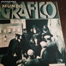 Coleccionismo de Revistas y Periódicos: MUNDO GRAFICO AÑO 1934 TEMPORAL RABITA MOTRIL MALAGA- SANJURJO-LOS MISTERIOS DE LA FAI. Lote 161868854
