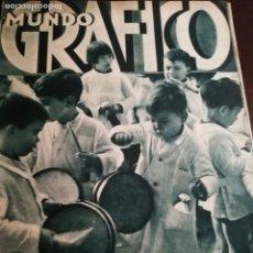 Coleccionismo de Revistas y Periódicos: MUNDO GRAFICO AÑO 1934 LOS MISTERIOS DE LA FAI -COMPANYS PRESIDENTE-DURANGO. Lote 161869282