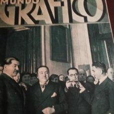 Coleccionismo de Revistas y Periódicos: MUNDO GRAFICO AÑO 1934 LOS MISTERIOS DE LA FAI -DUELO MUERTE MACIA . Lote 161870374