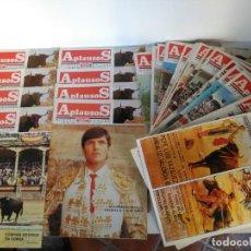 Coleccionismo de Revistas y Periódicos: LOTE DE 25 REVISTAS TAURINAS APLAUSO, AÑOS 85 Y 86. Lote 161940450