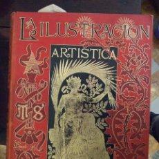 Coleccionismo de Revistas y Periódicos: TOMO XXIII - LA ILUSTRACION ARTISTICA - AÑO 1902 COMPLETO - MONTANER Y SIMON. Lote 161947542