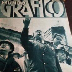 Coleccionismo de Revistas y Periódicos: MUNDO GRAFICO AÑO 1934 DISCURSO GIL ROBLES - CARME ALBERTI MISS CATALUÑA-MARCIAL LALANDA. Lote 161956582