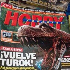 Coleccionismo de Revistas y Periódicos: REVISTA HOBBY CONSOLAS NUMERO 186 HOBBY CONSOLAS VIDEOJUEGOS VUELVE TUROK. Lote 161999634