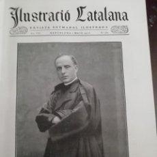 Coleccionismo de Revistas y Periódicos: ILUSTRACIO CATALANA Nº360 1910 FOTOS LES TAULES DE PEDRA ROMANYA DE LA SELVA JORBA I BALENYA. Lote 162023258