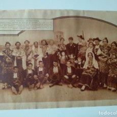 Coleccionismo de Revistas y Periódicos: HOJA REVISTA ORIGINAL AÑOS 30. CHARLA DE FEDERICO GARCIA SANCHIZ EN MACOTERA, SALAMANCA. Lote 162039618