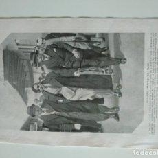Coleccionismo de Revistas y Periódicos: HOJA REVISTA ORIGINAL AÑOS 30. MARLENE DIETRICH EN PARIS, BOINA VASCA ROPA VARONIL. Lote 162039878