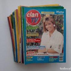 Coleccionismo de Revistas y Periódicos: LOTE COLECCION DE 72 REVISTAS CLAN TV. Lote 162040390