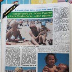Coleccionismo de Revistas y Periódicos: JESUS PUENTE LICIA CALDERON . Lote 162125078