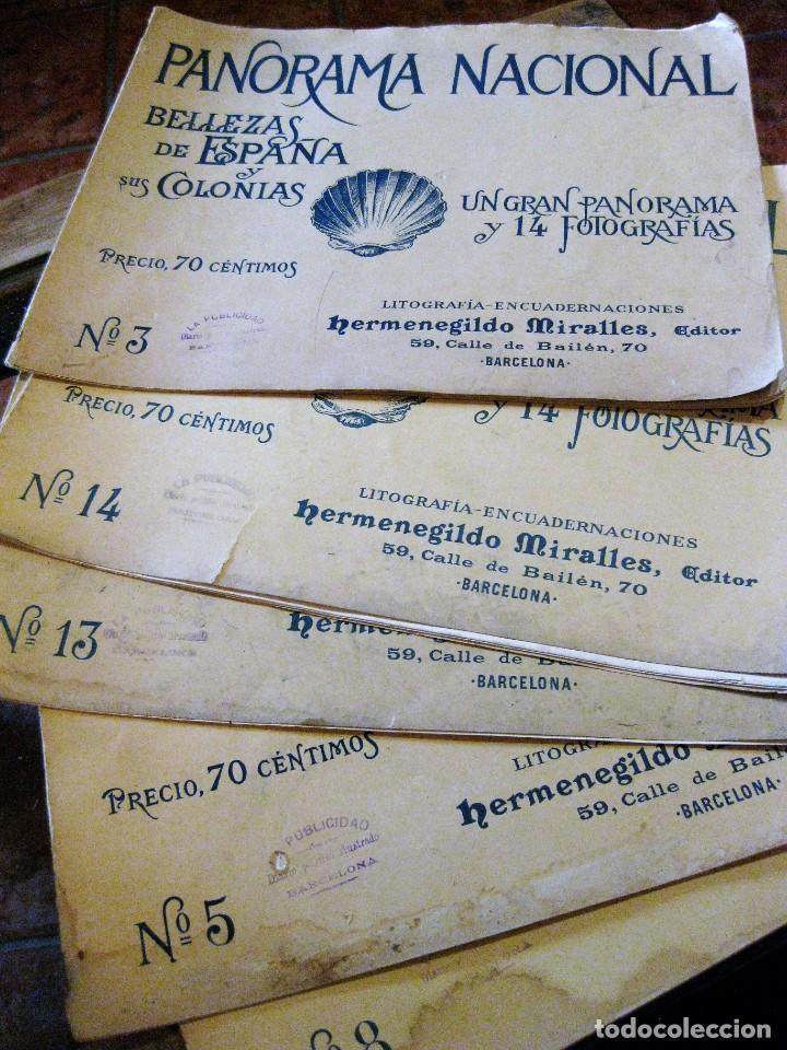 5 PANORAMA NACIONAL BELLEZAS DE ESPAÑA Y SUS COLONIAS .H . MIRALLES Nº 5 -8-14-3- 13 (Coleccionismo - Revistas y Periódicos Antiguos (hasta 1.939))
