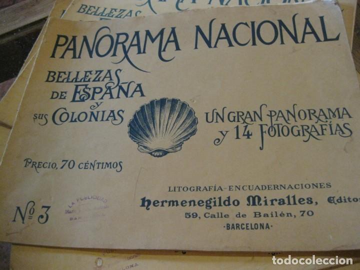 Coleccionismo de Revistas y Periódicos: 5 panorama nacional bellezas de españa y sus colonias .H . Miralles nº 5 -8-14-3- 13 - Foto 2 - 162163610