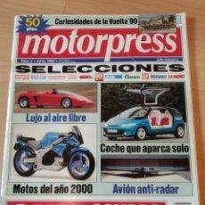 Coleccionismo de Revistas y Periódicos: REVISTA MOTORPRESS N.2 1990 CURIOSIDADES VUELTA DE LOS 90 AVIÓN ANTI RADAR. Lote 162298449