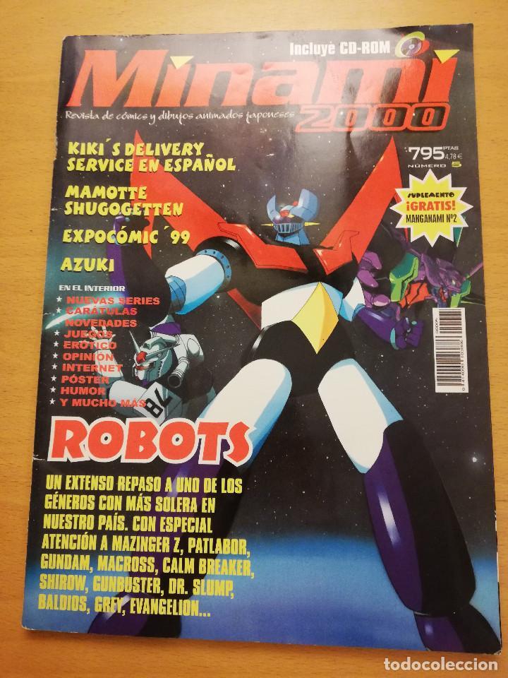 MINAMI 2000. REVISTA DE CÓMICS Y DIBUJOS ANIMADOS JAPONESES (Nº 5) (Coleccionismo - Revistas y Periódicos Modernos (a partir de 1.940) - Otros)
