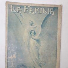 Coleccionismo de Revistas y Periódicos: REVISTA LA FAMILIA. JUNIO 1919. Lote 162381964