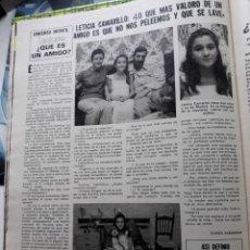 Coleccionismo de Revistas y Periódicos: LETICIA CAMARILLO . Lote 162387090