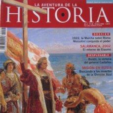 Coleccionismo de Revistas y Periódicos: LA AVENTURA DE LA HISTORIA 48. Lote 162425506