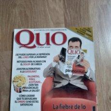 Coleccionismo de Revistas y Periódicos: REVISTA QUO N.13. Lote 162478242