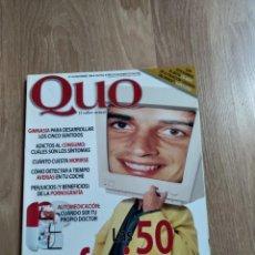 Coleccionismo de Revistas y Periódicos: REVISTA QUO N.14. Lote 162478334