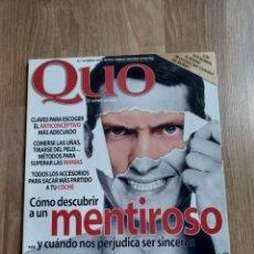 Coleccionismo de Revistas y Periódicos: REVISTA QUO N.17. Lote 162478522
