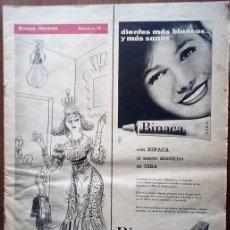 Coleccionismo de Revistas y Periódicos: REVISTA GACETA ILUSTRADA. Lote 162507182