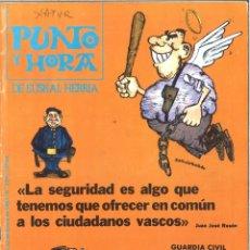 Coleccionismo de Revistas y Periódicos: PUNTO Y HORA DE EUSKAL HERRIA. 209. ENERO 1981. Lote 162526734