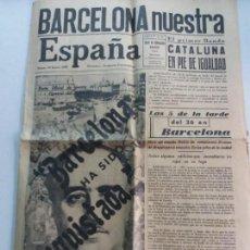 Coleccionismo de Revistas y Periódicos: EJEMPLAR ÚNICO DE NUESTRA ESPAÑA-1939 TANGER-VER FOTOGRAFÍAS. Lote 162531238