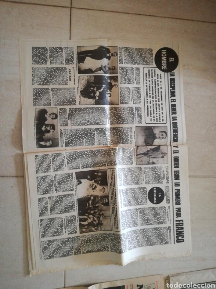 Coleccionismo de Revistas y Periódicos: PERIÓDICO YA REFERENTE A LA MUERTE DE FRANCO - Foto 3 - 162583266