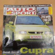 Coleccionismo de Revistas y Periódicos: AUTO SPORT SEAT IBIZA CUPRA N. 590 1996. Lote 164892921