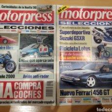 Coleccionismo de Revistas y Periódicos: DOS REVISTAS MOTORPRESS EL 90 Y 92. Lote 162638080