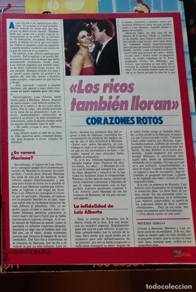 MARIANA LOS RICOS TAMBIEN LLORAN VERONICA CASTRO (Coleccionismo - Revistas y Periódicos Modernos (a partir de 1.940) - Otros)