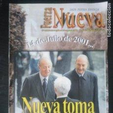 Coleccionismo de Revistas y Periódicos: REVISTA FUERZA NUEVA 1252 JULIO 2001 FALANGE FRANCO. Lote 162677798