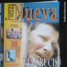 Coleccionismo de Revistas y Periódicos: REVISTA FUERZA NUEVA 1246 ABRIL 2001 FALANGE FRANCO PLUS ULTRA TERRRORISMO. Lote 162679178