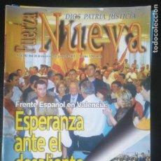 Coleccionismo de Revistas y Periódicos: REVISTA FUERZA NUEVA 1282 MAYO 2003. FALANGE FRANCO FRENTE ESPAÑOL. Lote 162679562