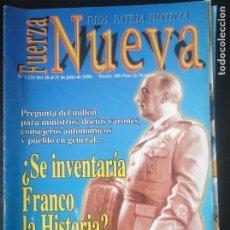 Coleccionismo de Revistas y Periódicos: REVISTA FUERZA NUEVA 1233 JULIO 2000. FALANGE FRANCO. Lote 162680562