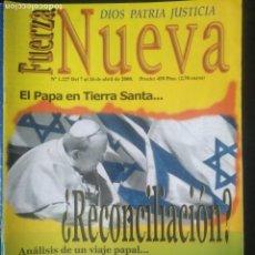 Coleccionismo de Revistas y Periódicos: REVISTA FUERZA NUEVA. 1227 ABRIL 2000 FRANCO FALANGE. Lote 162681054