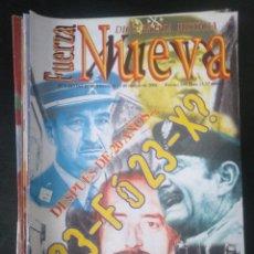 Coleccionismo de Revistas y Periódicos: REVISTA FUERZA NUEVA 1243 FEBRERO 2001 FRANCO FALANGE. Lote 162681158