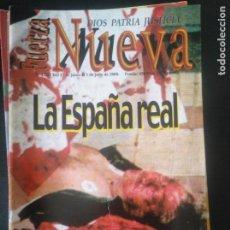 Coleccionismo de Revistas y Periódicos: REVISTA FUERZA NUEVA 1231 JUNIO 2000 FRANCO FALANGE TERRORISMO. Lote 162682278