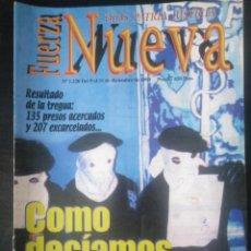 Coleccionismo de Revistas y Periódicos: REVISTA FUERZA NUEVA 1220 DICIEMBRE 1999 FALANGE FRANCO ETA. Lote 162683534
