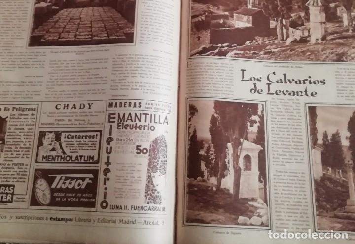 Coleccionismo de Revistas y Periódicos: revista estampa 1930 semana santa cartagena -ath club bilbao-CALVARIOS DE ARTESA SAGUNTO JATIBA - Foto 4 - 162758702
