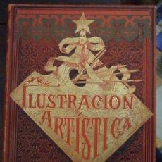 Coleccionismo de Revistas y Periódicos: TOMO XI - LA ILUSTRACION ARTISTICA - AÑO 1892 MEDIO AÑO - MONTANER Y SIMON. Lote 162759942