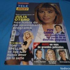 Coleccionismo de Revistas y Periódicos: REVISTA TELE INDISCRETA, JULIA OTERO, NÚMERO 533 AÑO 1995. Lote 162780668