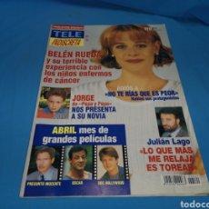 Coleccionismo de Revistas y Periódicos: REVISTA TELE INDISCRETA, BELÉN RUEDA, NÚMERO 529 AÑO 1995. Lote 162781317